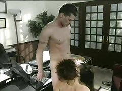 Lucky Guy Fucks A Tiny Asian Added to A Hot Milf - Boss Film