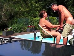Helene by hammer away pool