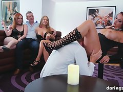 Party goes jilted be advantageous to Jolee Adore and Marc Rose