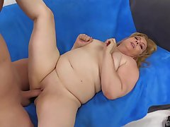 blonde mature Peggy Petition adores in all directions suck hard and long tabulation before fuck