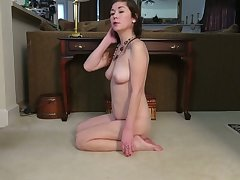 There's nothing hotter than a lonely MILF and this unreserved loves masturbating