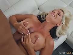 tit job and a blowjob besides coition are very welcome for Alena Croft