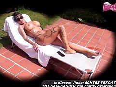 german big tits tattoo milf pov creampie from voyeur