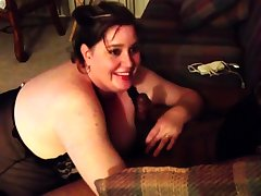 BBW Girl Gets Her First BBC