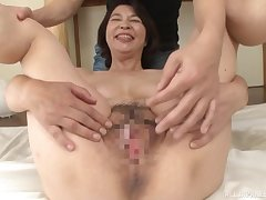 Asian mature close to hairy pussy, beast cam porn