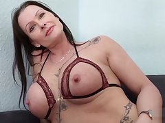 GERMAN SCOUT - MATURE JULIA SEDUCE ANAL At one's disposal Lane CASTING