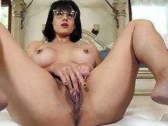 Of age facetiousmater masturbating to the fore of stepson