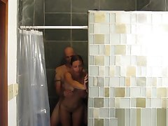 Spycam Shower Sex Perfect Milf Best Amateur Porn
