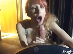 Provoking Amateur MILF delievers great oral copulation with the addition of swallows