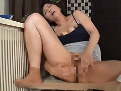 japanese full-grown masturbating