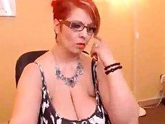 Mature big boobs show