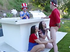 4th be required of July foursome party be required of the girls to reach their creep