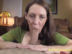 Patricia gives the brush best in this porn casting