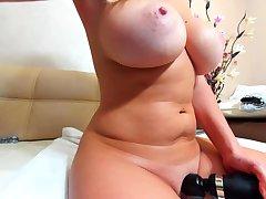 Sexy french milf webcam masturbation and cum around mouth