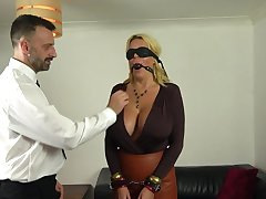 Big-busted mature acts obedient in a kinky 50 shades be advisable for Grey porn entertainment