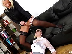 Lustful Lesbians Hot Pissing Scene
