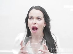 PremiumBukkake - Jessy Jey swallows 108 huge mouthful cumshots