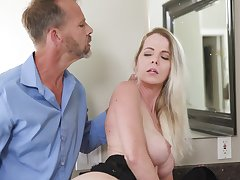 Stunning cougar Anita Off colour drops her lingerie for amazing fucking