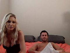 Having exposed their way big boobs and blowjob skills blonde is fucked doggy