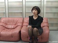 Seductive Asian amateur Mizuhara Ran gets fucked round rector
