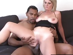 Cock hungry phat ass MILFs taking fat black dicks in their meaty pussy and enjoy gender