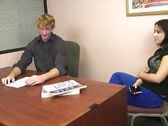 Dimwit's stepmother breaks professor's will via a blowjob