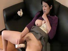 Satoko Miyazawa - Big Juggs JAV Milf Hairy Pussy Drilled Deep