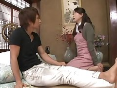 Japanese MILF with long hair and muted cunt being fucked steadfast