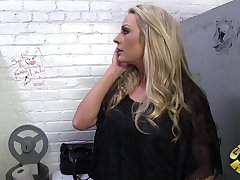 Sindy Lange is a married female whose hubby gets his rocks off in an strange manner: He likes listening to her screw OTHER studs. You read that right- Sindy Lange porks other studs while her spouse witnesses or listens in. Sindy is prowling for some anony