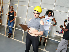 <b>2014 AVN Host Chanel Preston</b> is a porno producer that works her construction squad to the manhood. We've come via the team house fresh wets for the fuckslut in charge, and things are about to reach the boiling point. Wank Napier, Wesley Pipes, Char
