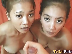 Asian 18Yo Girl Twins - amateurs