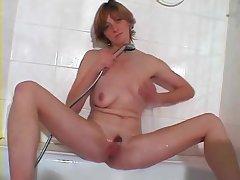 Sexy Masturbation Back Bathroom mature mature porn granny old cumshots cumshot